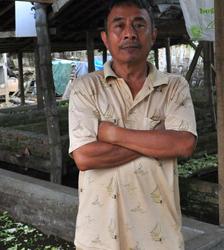 Harijadi, peternak dan leader farm budidaya cacing Magetan