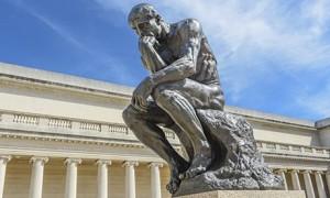 Rodin Thinker Statue