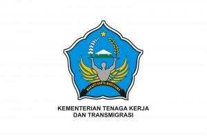 Logo Kementerian Tenaga Kerja dan Transmigrasi