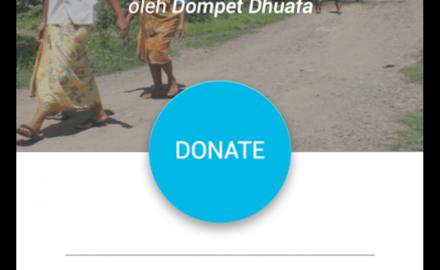 pushla aplikasi donasi lewat ponsel